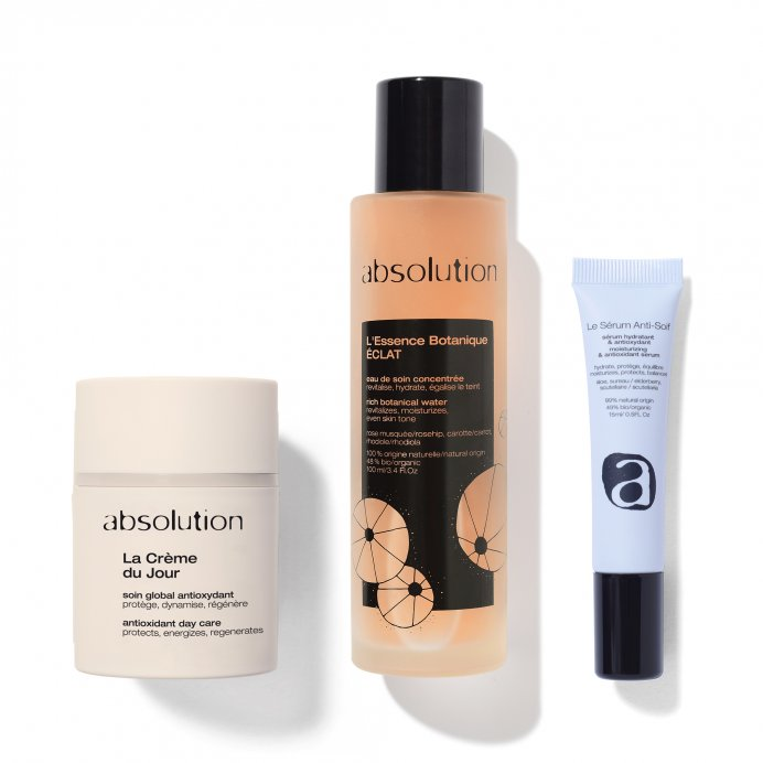 Moisturizing and Antioxydant Trio