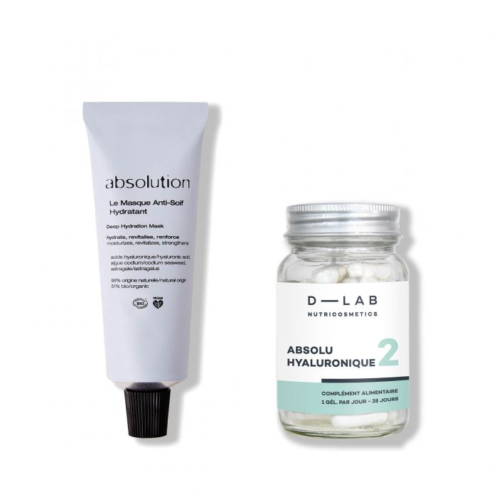The Hydrating Duo Absolution x D-Lab